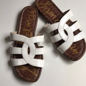 Sam Edelman White Bryna sandals